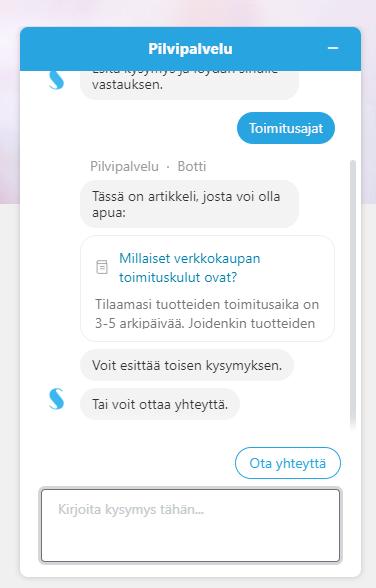 Zendesk widgetin avulla tarjoat asiakkaillesi artikkeleita ratkaisutietokannastasi